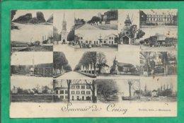 Croissy-sur-Seine (78) Souvenir Multivues 2scans 1906 églises Carte Animée - Croissy-sur-Seine