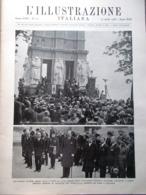 L'Illustrazione Italiana 14 Aprile 1935 Convegno Di Stresa Pirandello Mark Twain - Libri, Riviste, Fumetti