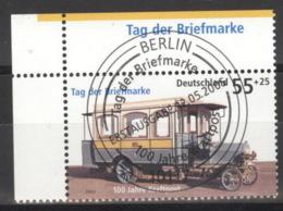 BRD 2456 Eckrand Links Oben O Sonderstempel Berlin - Gebraucht