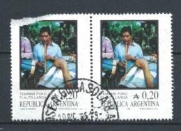 ARGENTINA 1985 (O) USADOS MI-1766 YT-1491 FOLKLORE MUSICAL INSTRUMENTOS - Argentinien