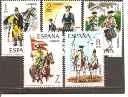 España/Spain-(MH/*) - Edifil  2197-01 - Yvert  1852-56 - 1971-80 Nuevos & Fijasellos