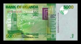 Uganda 5000 Shillings 2015 Pick 51d SC UNC - Uganda