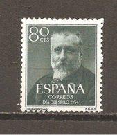 España/Spain-(MNH/**) - Edifil  1142 - Yvert 853 - 1951-60 Nuevos & Fijasellos