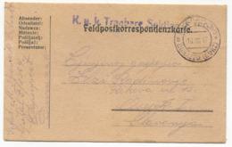 AUSTRIA HUNGARY WW1 - K.u.K. FELDPOST TABORI POSTA 1917. Seal DURAZZO ALBANIA, TRAVELED TO OSIJEK CROATIA - Guerre Mondiale (Première)