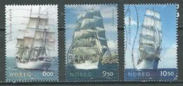 Norvège YT N°1484/1486 Grands Voiliers Oblitéré ° - Norvège