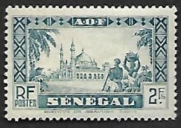 SENEGAL  1935  -  Y&T  133  -  Mosquée -  NEUF* - Unused Stamps