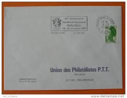 Flamme Postmark Ecole Superieure De Geologie Nancy Meurthe Et Moselle - Géologie