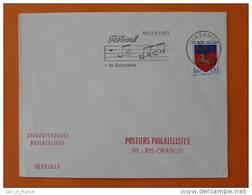 Flamme Postmark Festival Bach 1967 Compositeur Composer Mazamet Tarn - Marcophilie (Lettres)