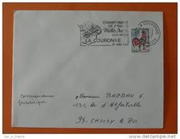 Flamme Postmark Motocross 1967 La Couronne Charente - Motorbikes