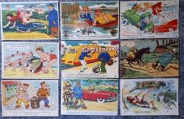 Lot De 21 Cartes Fantaisies - 5 - 99 Postcards