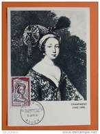 Carte Maximum Maxi Card La Champmesle Rouen - Acteurs