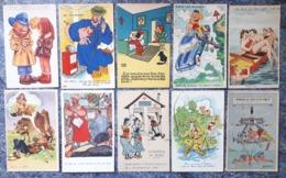 Lot De 19 Cartes Fantaisies - 5 - 99 Postcards