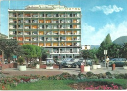 RIVIERA DELLE PALME - PIETRALIGURE - HOTEL ROYAL - POSTALLY USED WITH SLOGAN POSTMARK 1967 - Other Cities