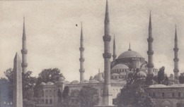 TURQUIE. CONSTANTINOPLE. CPA. MOSQUÉE SULTAN AHMED - Turquie