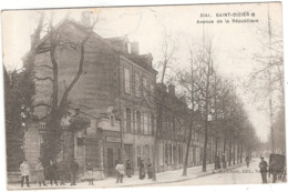 CPA Saint Dizier Avenue De La Republique 52 Haute Marne - Saint Dizier