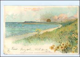 Y11637/ Sonnenschein Litho AK 1899 - Cartoline