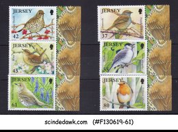 JERSEY - 2009 BIRDS / BIRDLIFE - 6V - WITH TABS MINT NH - Birds
