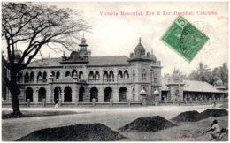 COLOMBO - Victoria Memorial, Eye & Ear Hospital - Sri Lanka (Ceylon)