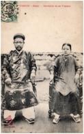 TONKIN -HANIO - Mandarin Et Sa Femme - Vietnam