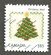 Sc # 2691 Christmas, World Rate Single Booklet Used 2013 K335 - 1952-.... Règne D'Elizabeth II