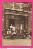 CARTE PHOTO  (Ref: Z 1294) NANTES (44 LOIRE ATLANTIQUE) CAFÉ DU PRINTEMPS G. VIDEAU - Nantes