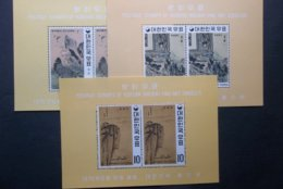 Korea,South, R.O.K.: Incomplete 5 S/Ss &11 Stamps In MNH, OG. (#JT1) - Unused Stamps