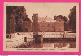 CPA (Réf Z 1089) (45 LOIRET) HUISSEAU-SUR-MAUVES Château De Pré-Lefort- Les Douves - Autres Communes