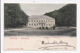 CP SLOVAQUIE POZSONY  PRESSBURG Vaskutacska Eisenbrünnel - Slovaquie