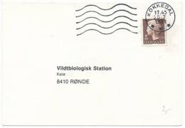 Mi 723 Solo Postcard / Definitive - 20 July 1981 Kokkedal - Denmark