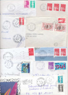 France Reunion 1978-2005 9 Long Covers To Finland - Réunion (1852-1975)