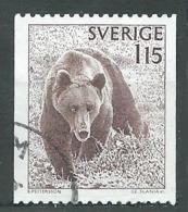 Suède YT N°998 Ours Oblitéré ° - Suède