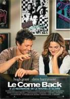 Cinema - Affiche De Film - Le Come Back - Avec Hugh Grant Et Drew Barrymore - Carte Neuve - Voir Scans Recto-Verso - Affiches Sur Carte