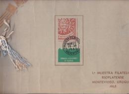 Uruguay I Muestra Filatelica Con Varios Pliegos SIN DENTAR - Uruguay
