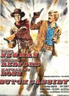 Cinema - Affiche De Film - Butch Cassidy - Paul Newman - Robert Redford - Carte Neuve - Voir Scans Recto-Verso - Affiches Sur Carte