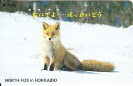 JAPAN - North Fox In Hokkaido(110-011), Used - Zonder Classificatie