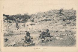 AP 56 /  C P A - DJIBOUTI  -  LAVEUSES - Djibouti