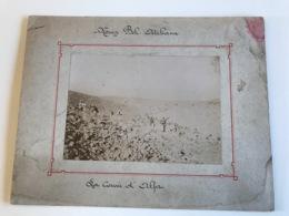 Photo Sur Plaque Cartonnée 27 X 21cm - MOUIZI BEL ATCHANN La Corvée D'Alfan - LEGION ETRANGERE - War, Military