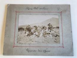 Photo Sur Plaque Cartonnée 27 X 21cm - MOUIZI BEL ATCHANN Repas Des Sous Officiers - LEGION ETRANGERE - War, Military