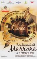 """PUBBLICITA'  ADVERTISING - CUNEO - """"FIERA REGIONALE DEL MARRONE"""" - Werbepostkarten"""
