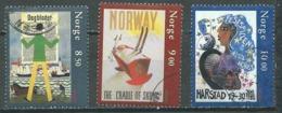 Norvège YT N°1422/1424 Europa 2003 Art De L'affiche Oblitéré ° - Europa-CEPT