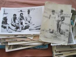 100+ SÉLECTION DE PHOTOS, HOMMES, FEMMES, ENFANTS, À LA PLAGE - Anonieme Personen