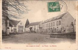 78 LES LOGES EN JOSAS  LA PLACE LA MAIRIE - Francia