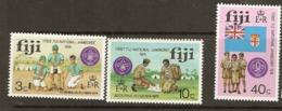 Fiji  1974  SG  499-01  National Scout Jamboree    Unmounted Mint - Fiji (1970-...)