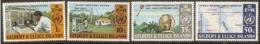 Gilbert &  Ellice Islands  1973  SG 223-6  I.M.O./W.M.O.  Unmounted Mint - Isole Gilbert Ed Ellice (...-1979)