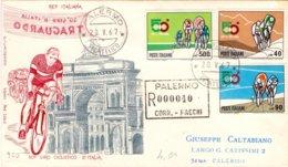 1967 Primo Giorno Di Emissione 50° Giro Di Italia - Sav - 6. 1946-.. Repubblica