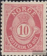 Norvegia 56B Usato 1893 Horn - Norvegia