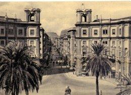 1956 Bella Cartolina Da Palermo Per Roma- Sav - 1946-60: Marcofilia