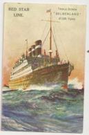 "24 -Red Star Line - Triple-Screw "" Belgenland"" - Steamers"