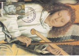 Carte Maximum Peinture Belgique 2000 Hans Memling - Maximumkarten (MC)
