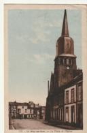 ***49*** LE MAY SUR EVRE  La Place Et L'église -timbrée TTBE - Autres Communes